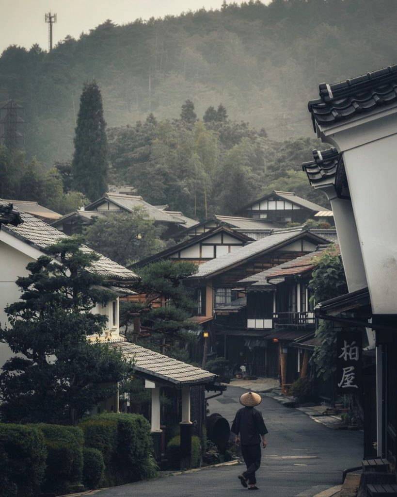 A misty day in Tsumago-juku on the Nakasendo Trail, captured by @srk_urbanshot. ...