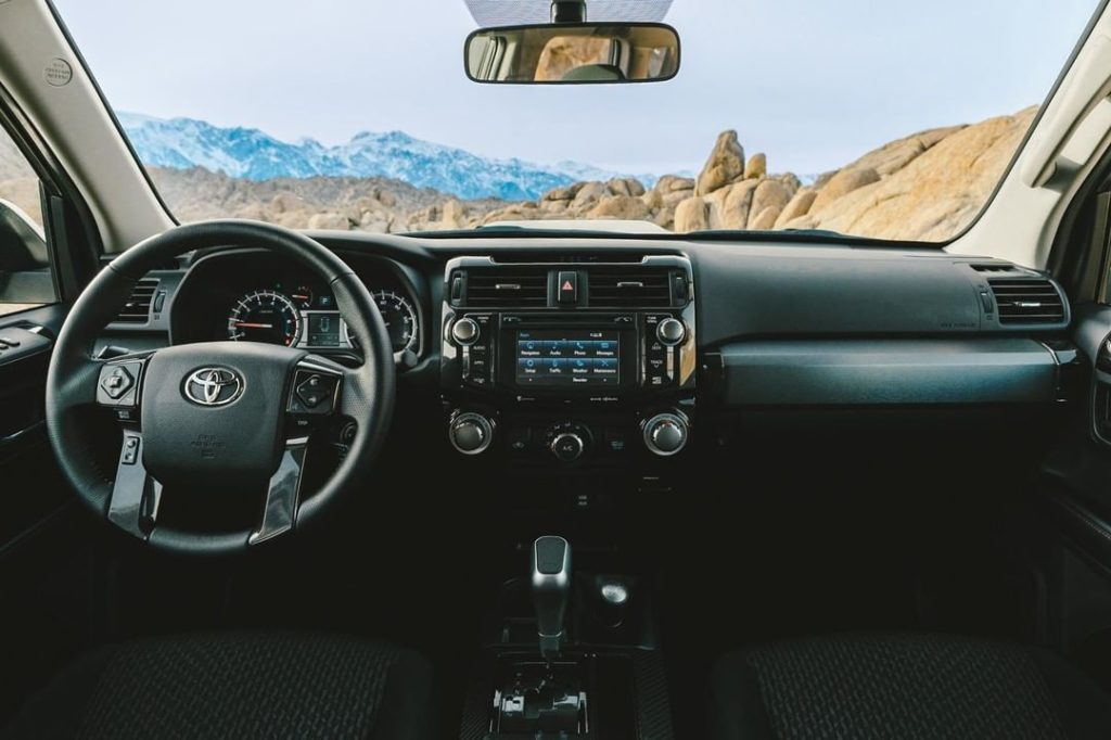 It may look rugged on the outside, but inside it's incredibly refined. #4Runner ...