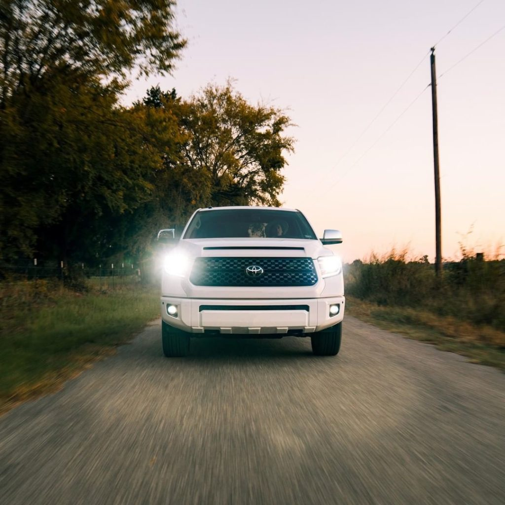 The definition of strength. #Tundra #LetsGoPlaces...