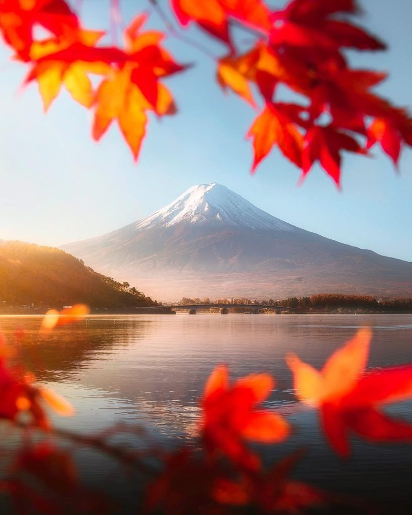 Spring, summer, fall, winter—what is your favorite season to see Mount Fuji?  Th...