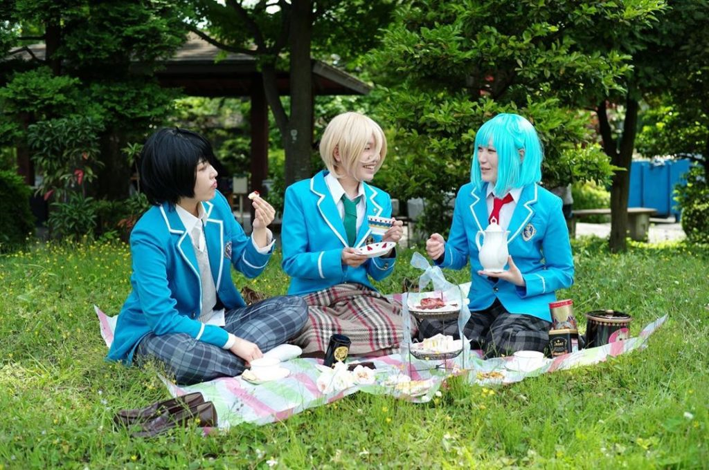 Ahead of the World Cosplay Summit, taking place in Nagoya July 27-Aug. 4, staff ...