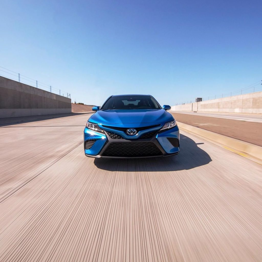 Breathtaking performance and design! #Camry #LetsGoPlaces...