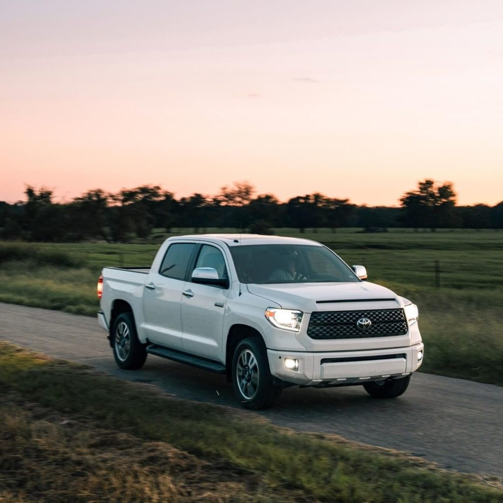 Built with pride. #Tundra #LetsGoPlaces...