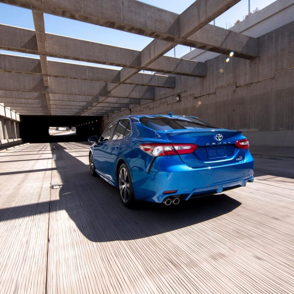 Push your limits. #Camry #LetsGoPlaces...