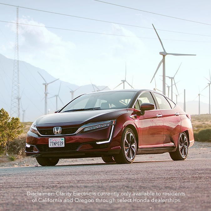 Soak up summer with the Honda Clarity Fuel Cell and power into instant accelerat...