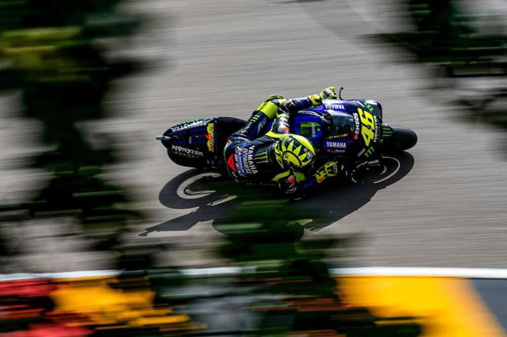 @valeyellow46 topped Q1 and took 11th place in Q2. . . #MonsterYamaha | #MotoGP ...