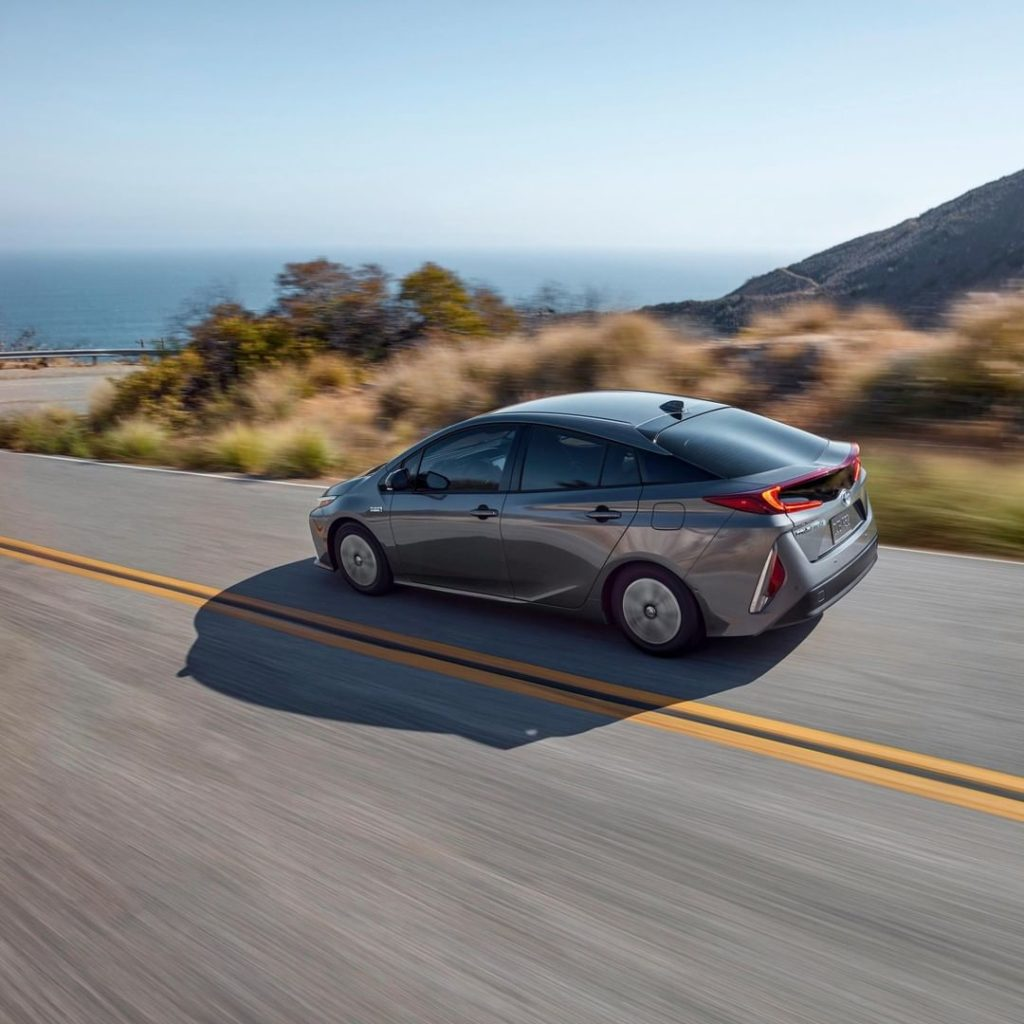Our most advanced hybrid yet, the #Prius Prime! #LetsGoPlaces...