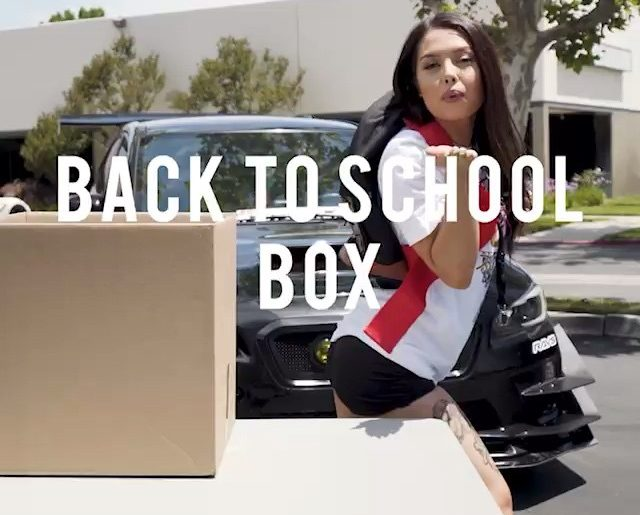 """""""Love My Back to School Box! Get 15 items for only $100, this is the seriously t..."""