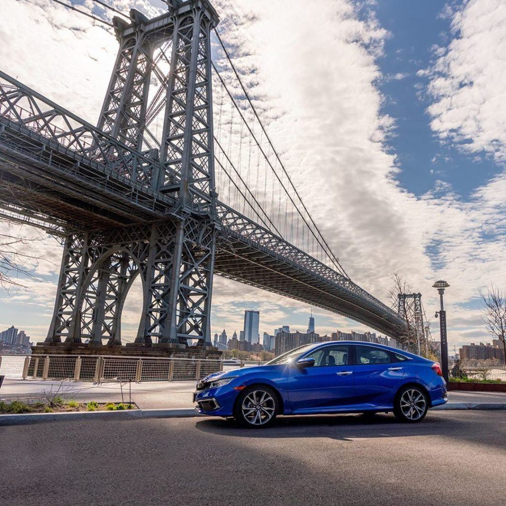 The Civic's impressive design is sure to keep you sharp this summer....