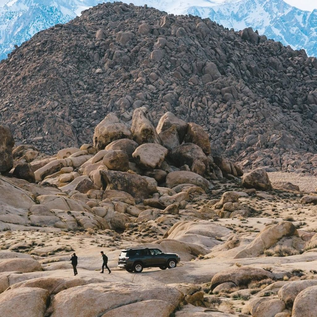 Be fearless in your pursuit of adventure. #4Runner #LetsGoPlaces...