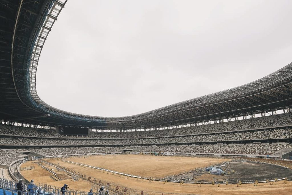 The Olympic Stadium is almost completed!  • 90% of the work has been done and it...