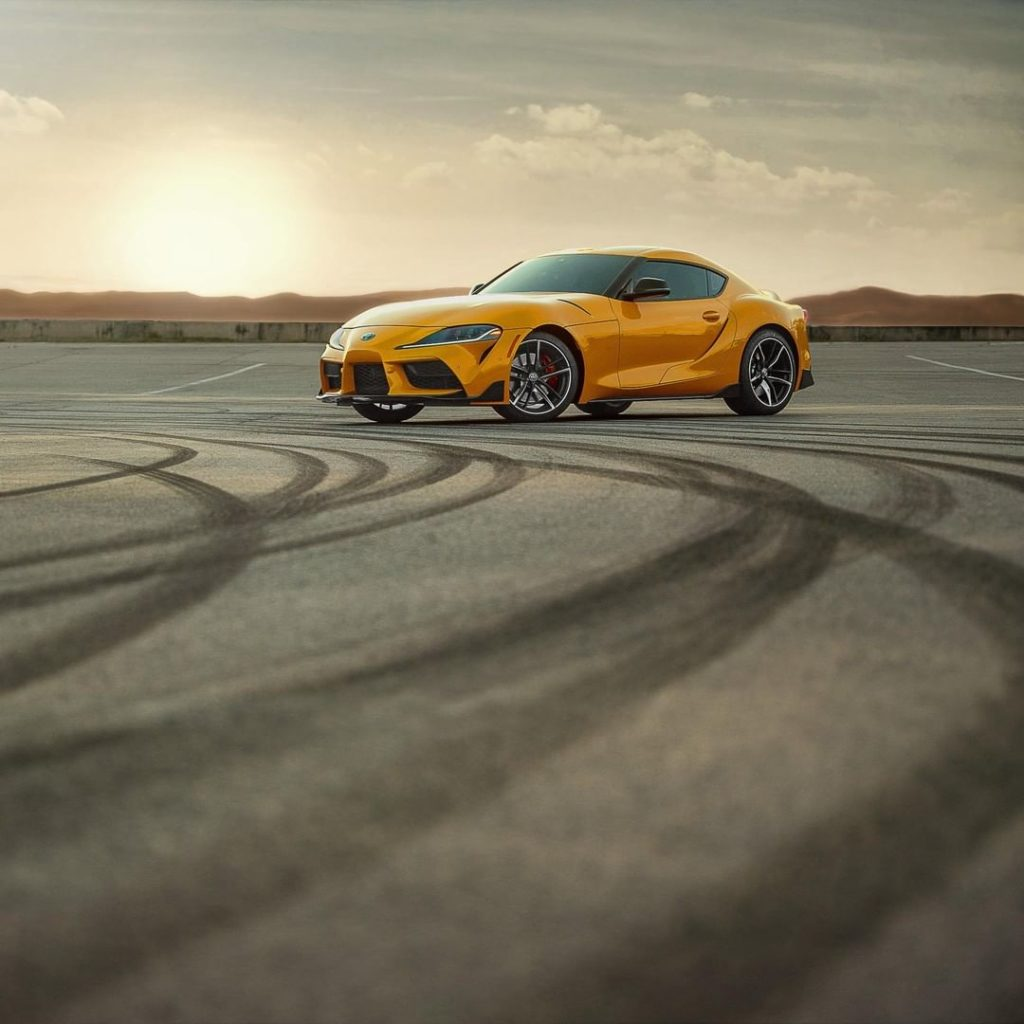 Believe the hype! The all-new 2020 GR #Supra, available now! #LetsGoPlaces...
