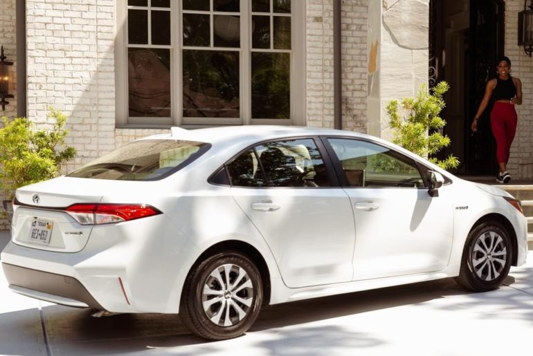 Let the 2020 #Corolla Hybrid motivate you to take control of your journey. #Lets...