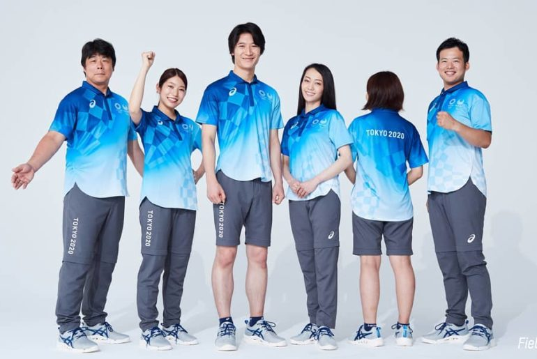 "The #Tokyo2020 ""Field Cast"" volunteers will be wearing these uniquely designed o..."