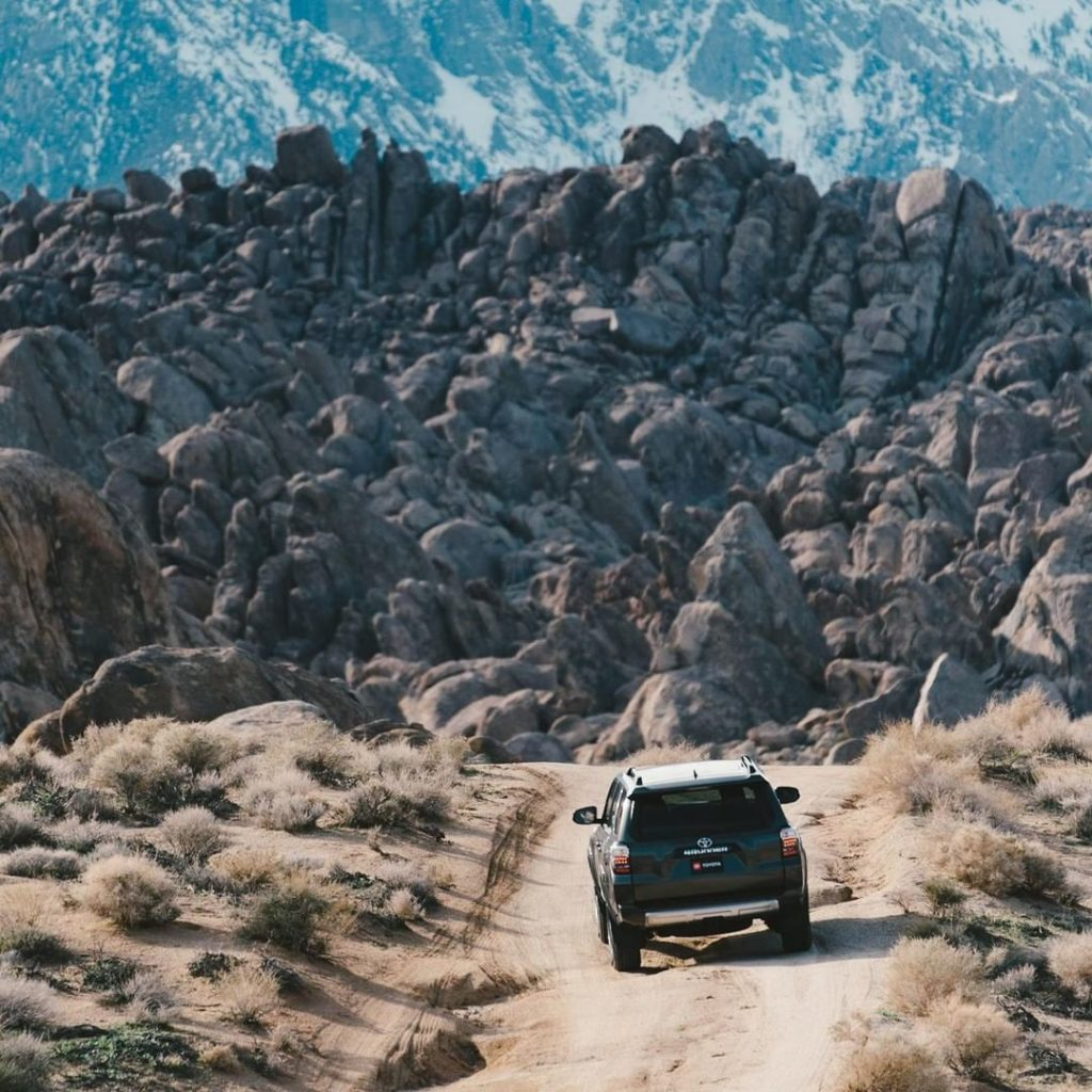 Obstacles? What obstacles? #4Runner #LetsGoPlaces...
