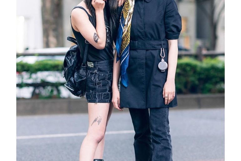 Japanese teens 16-year-old Satan (@deathsatan.67) and 18-year-old Mai (@i_am_gom...