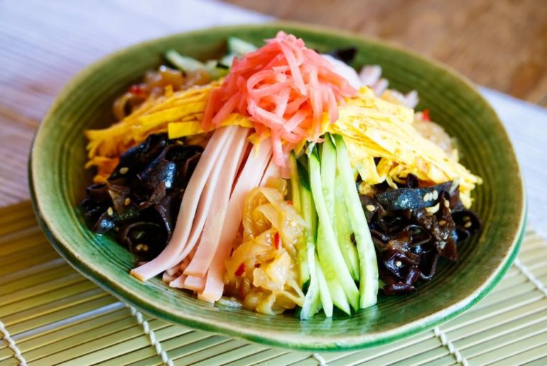 Have you ever tried this summer-only ramen?  Hiyashi chuka is a chilled noodle d...