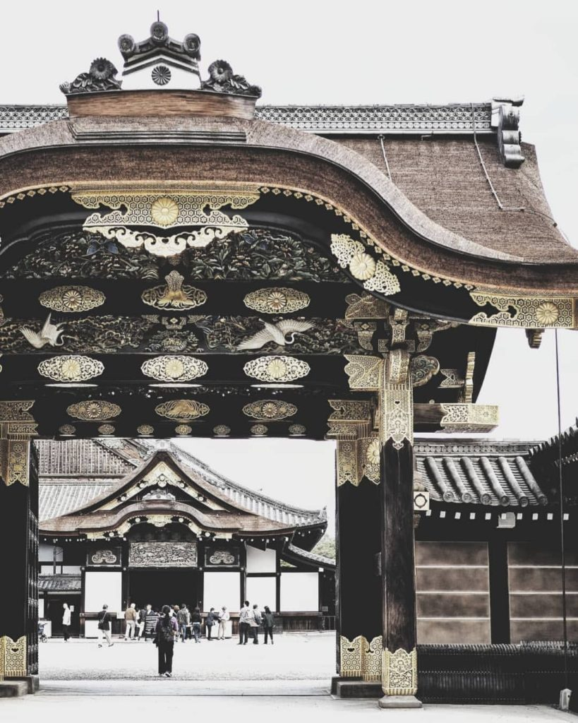 Nijo Castle is one of seventeen Historic Monuments of Ancient Kyoto, and a desig...