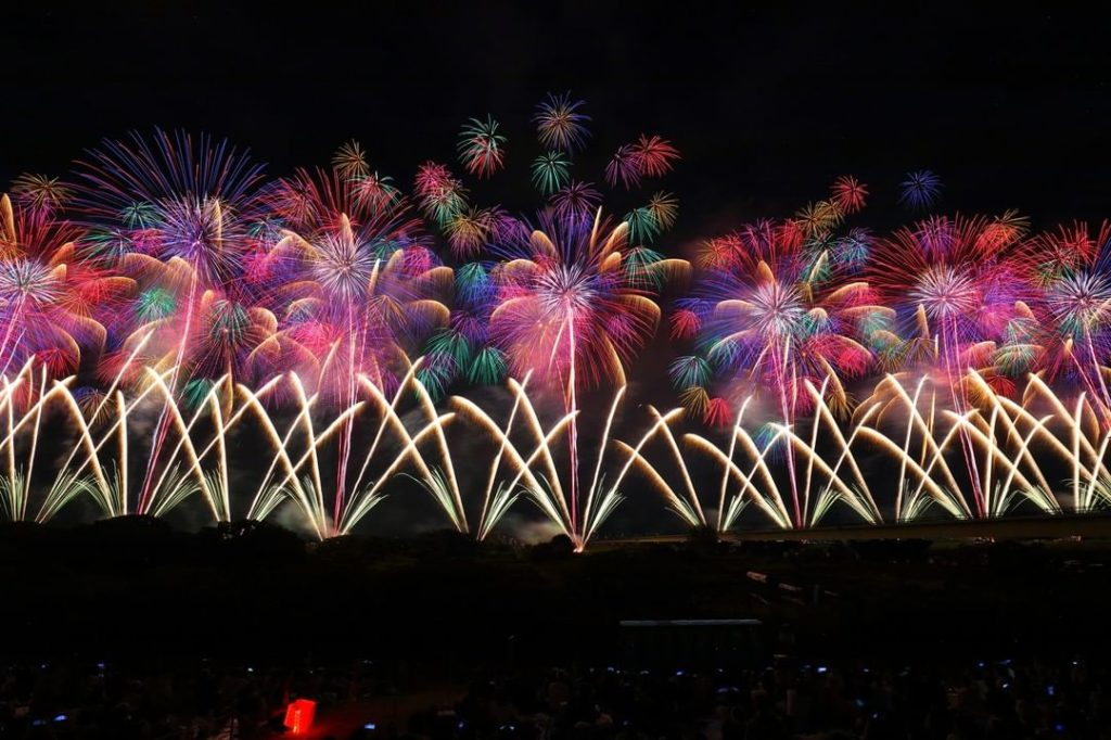 Held on August 2nd and 3rd, the yearly fireworks festival in Nagaoka (Niigata Pr...