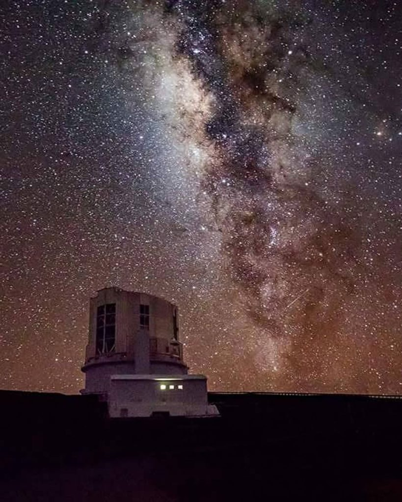 . The Subaru Telescope quietly observes the universe from the summit of Mauna Ke...