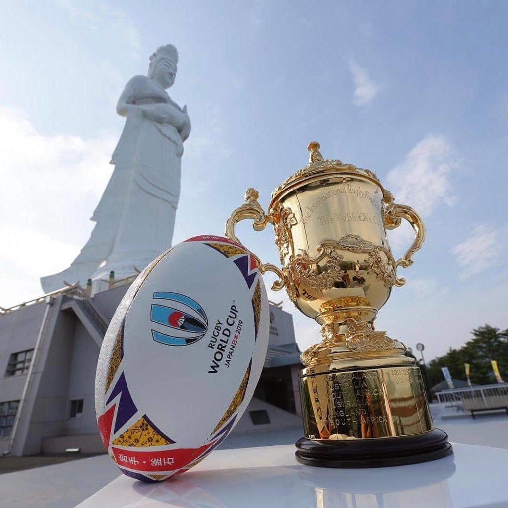 This weekend the Webb Ellis Cup visited another iconic destination on tour - the...