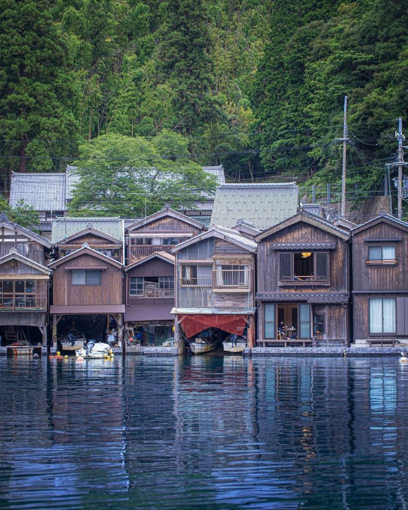 The small fishing village of Ine in Kyoto is incredibly picturesque, with plenty...