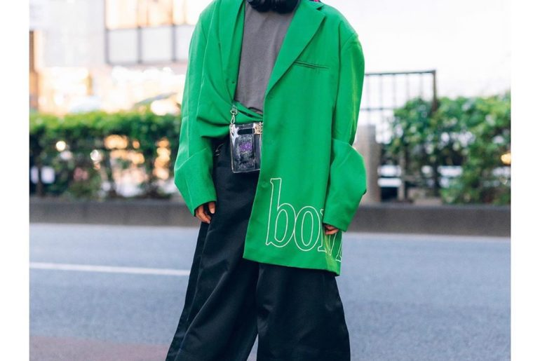 18-year-old Japanese beauty school student Yuito (@kamayui__) on the street in H...