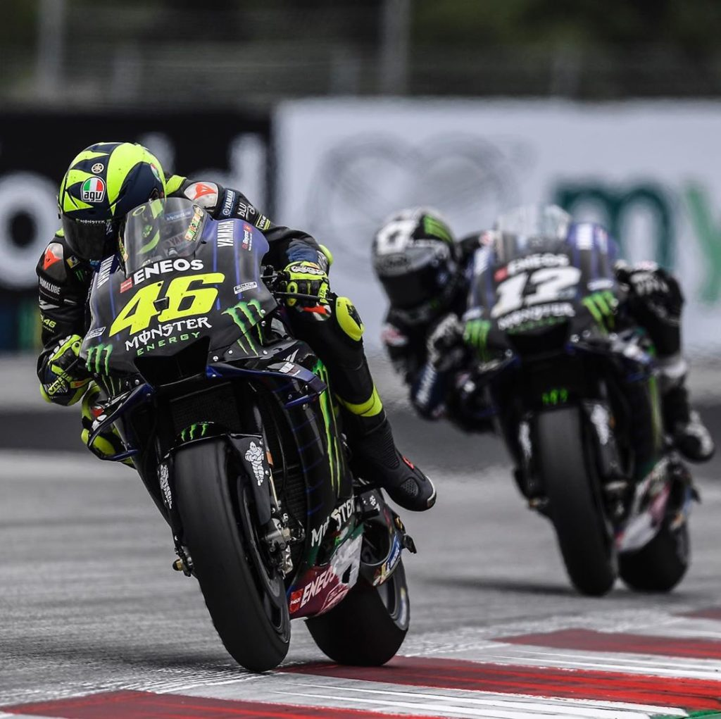 "@valeyellow46 : ""Fourth place is a good result after a quite good weekend. On pa..."