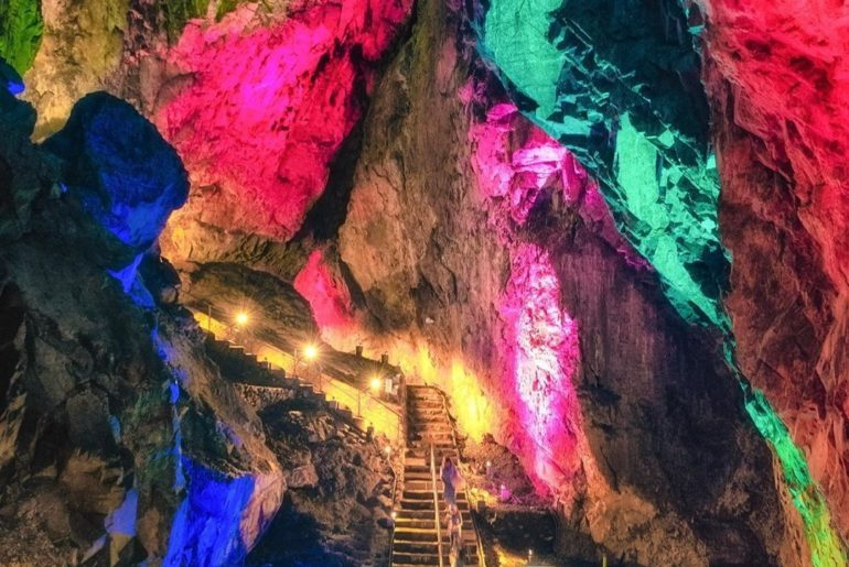 Can you believe these limestone caves are actually part of #Tokyo Prefecture? Th...