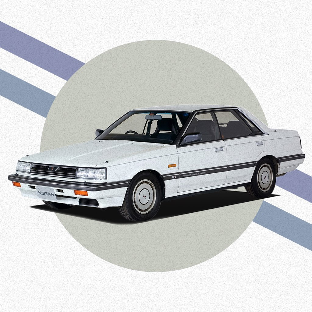 The 7th generation #Skyline #R31 launched in 1985 with the latest tech of its ti...