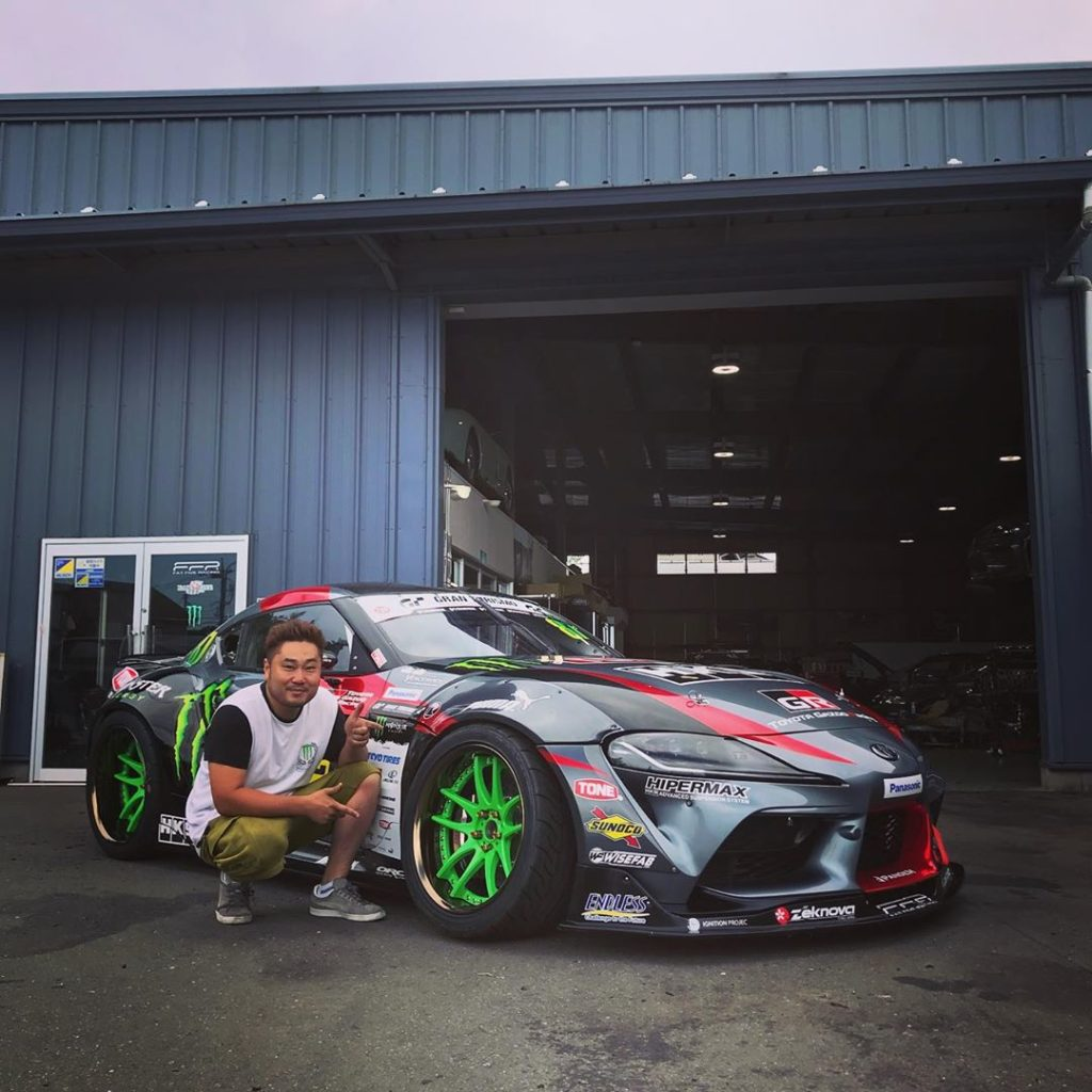 Really happy and proud to support @daigosaito87 ! His new Toyota Supra 90 rocks ...