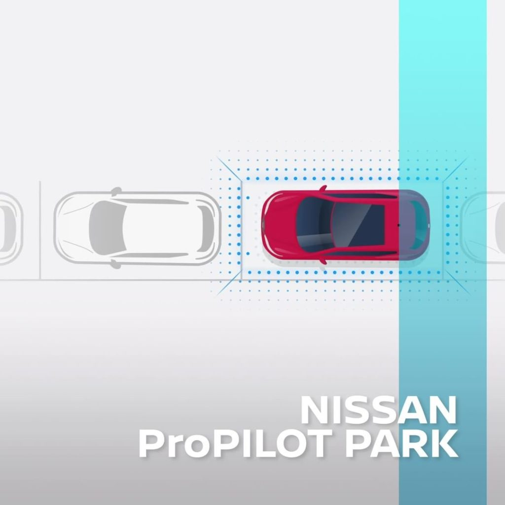 With Nissan's ProPILOT Park technology, all you have to do is press one button t...