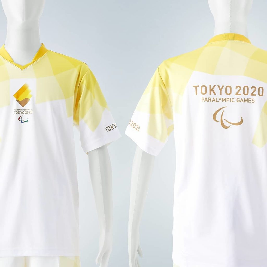 Your Paralympic Torch uniforms are here!  Designed to reflect the Paralympic fla...
