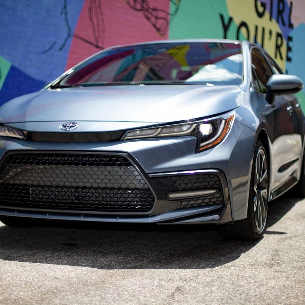 Design to excel on the street! #Corolla. #LetsGoPlaces...