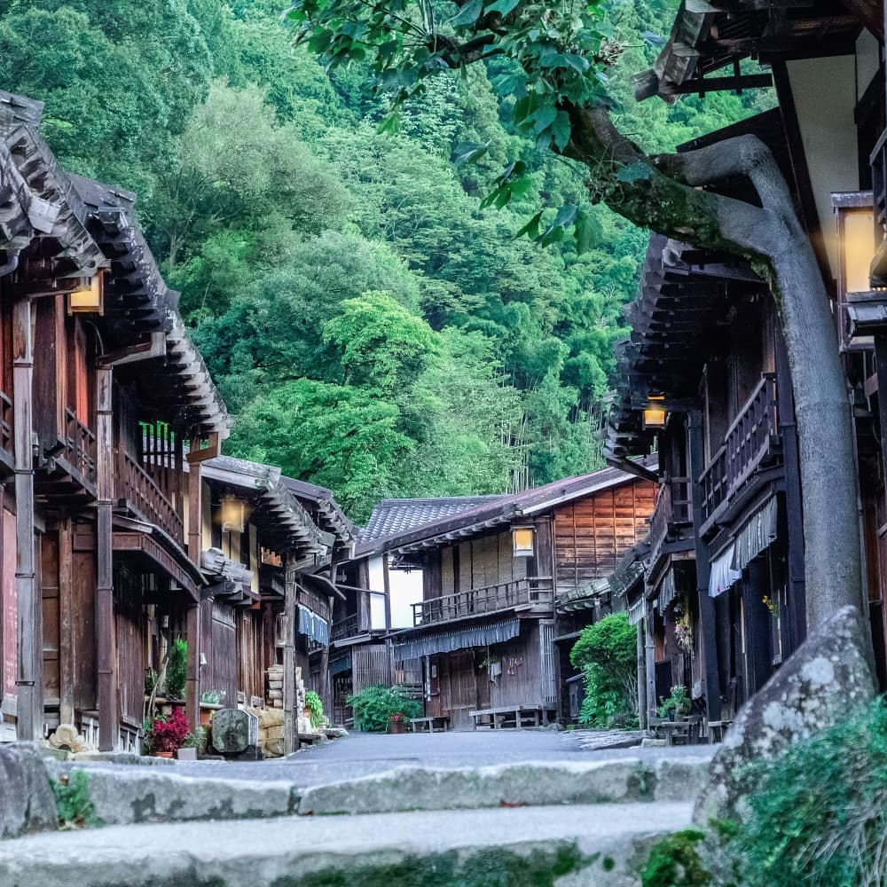 The rugged and forested Kiso Valley in southwestern NaganoPrefectureoffers vis...