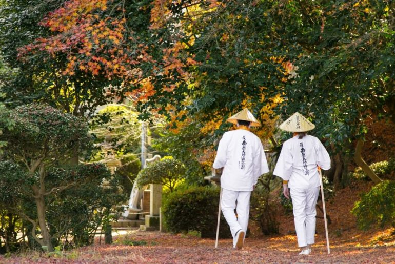 The 88 temple pilgrimage crosses Shikoku's four prefectures, and is one of the o...