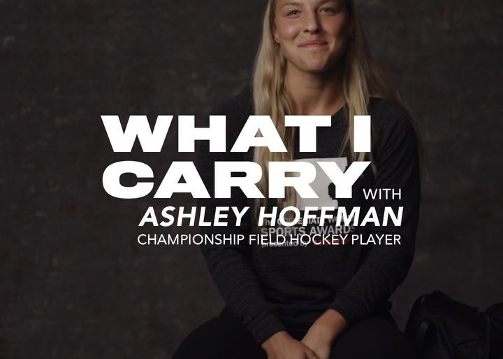 UNC field hockey champion and Honda Sport Award winner Ashley Hoffman shares a p...