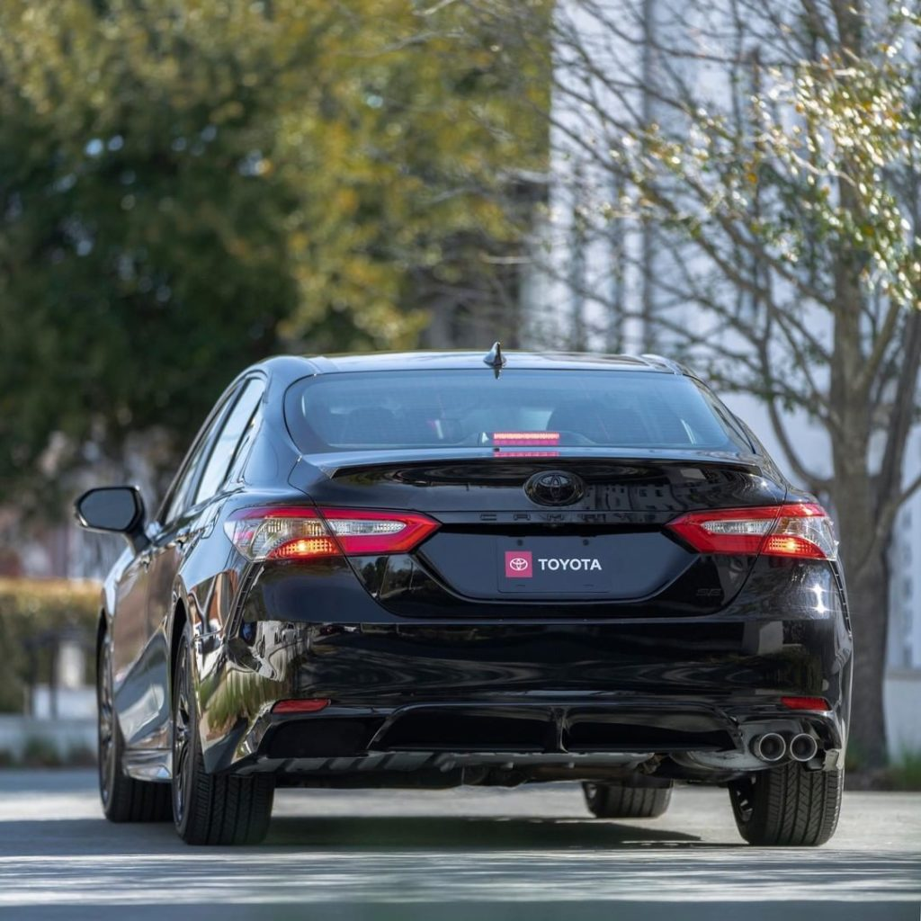 The bestselling standard mid-sized sedan just got a whole lot cooler. #Camry Nig...