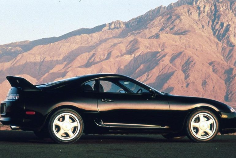Every side is its good side! 1993 #TBT #Supra #LetsGoPlaces...