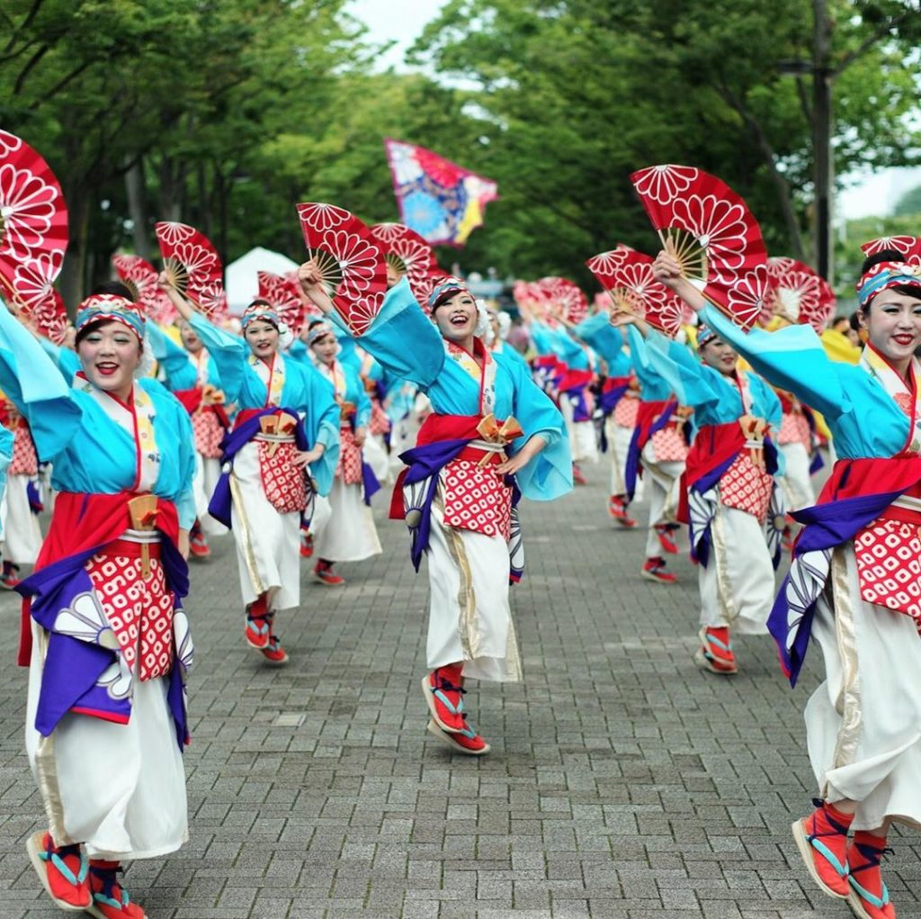 In August, the streets of Japan are filled with the sounds of music and dance. I...