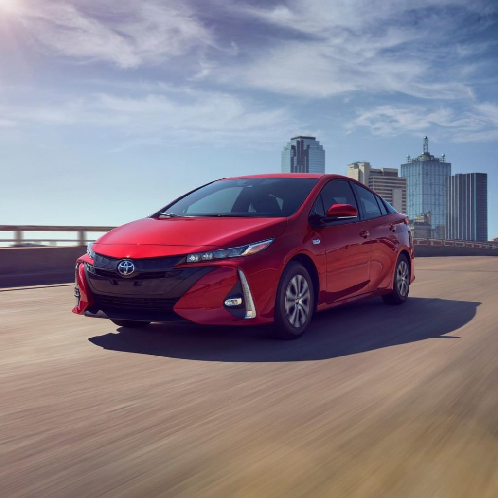 Maximum efficiency so you can go further than ever before. #Prius Prime #LetsGoP...