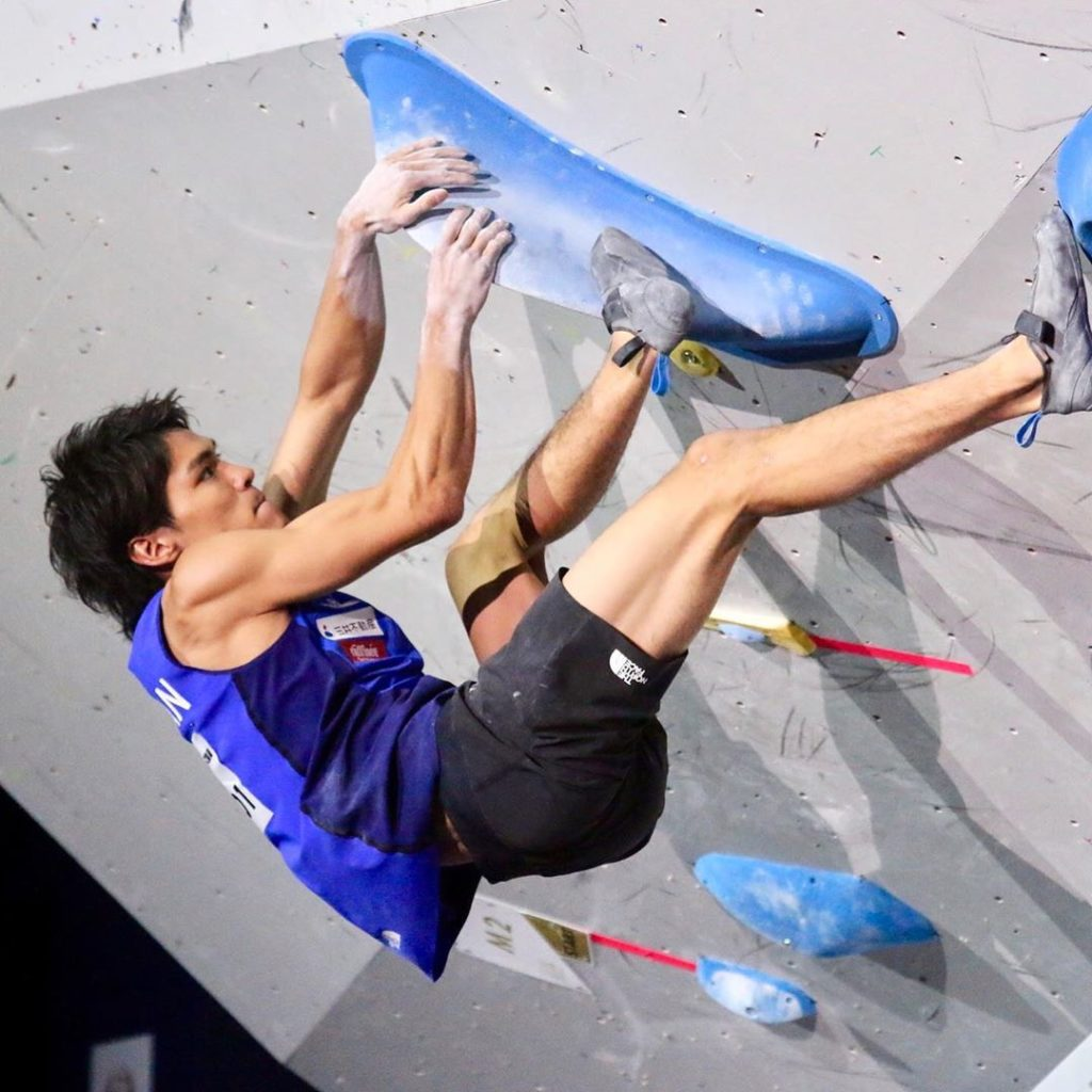 Tomoa Narasaki captured his first men's combined event gold medal at the Interna...