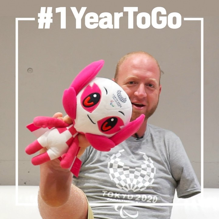 Are you ready to create history?  It is only #1YearToGo until the Tokyo 2020 Par...