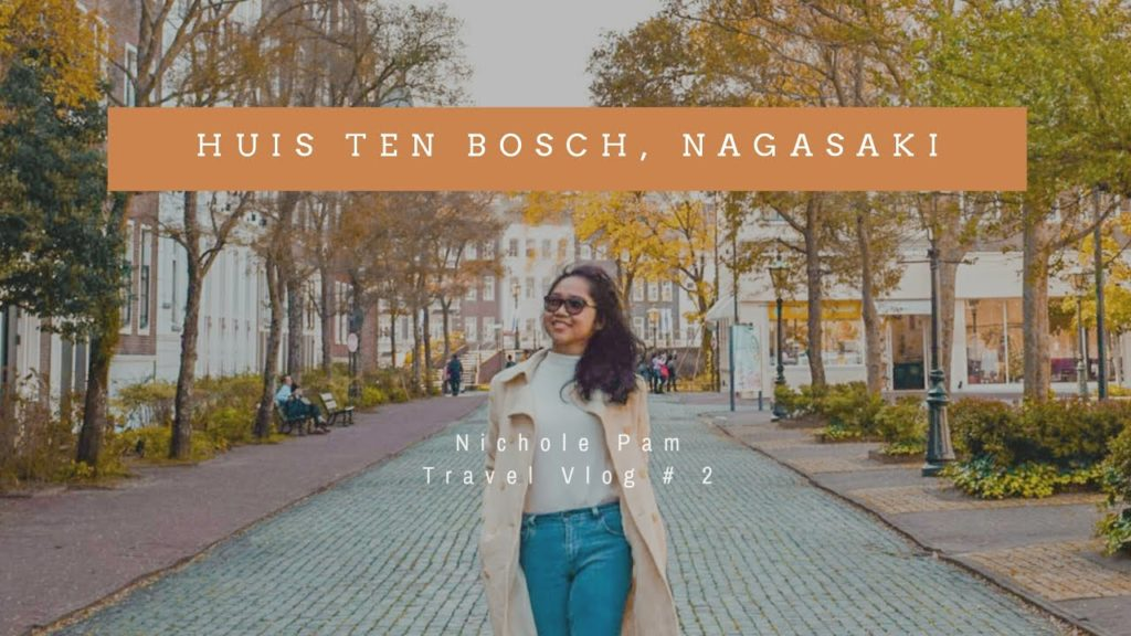 A Day in Huis Ten Bosch, Nagasaki - Europe of Japan