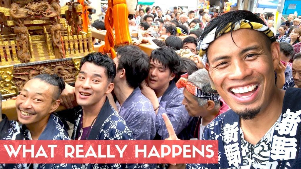 Behind the Scenes at a JAPANESE FESTIVAL | Mikoshi Matsuri