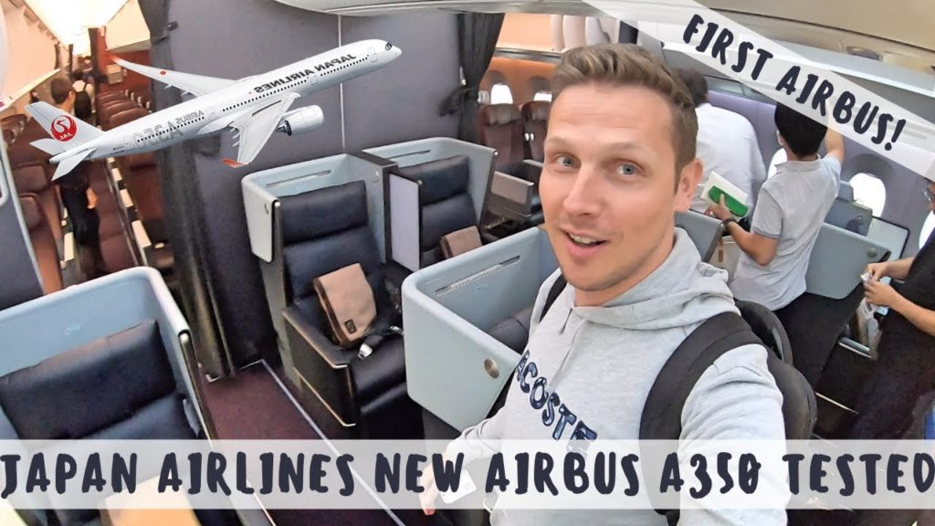 Review: JAPAN AIRLINES NEW AIRBUS A350 BUSINESS CLASS - THE DOMESTIC 350!