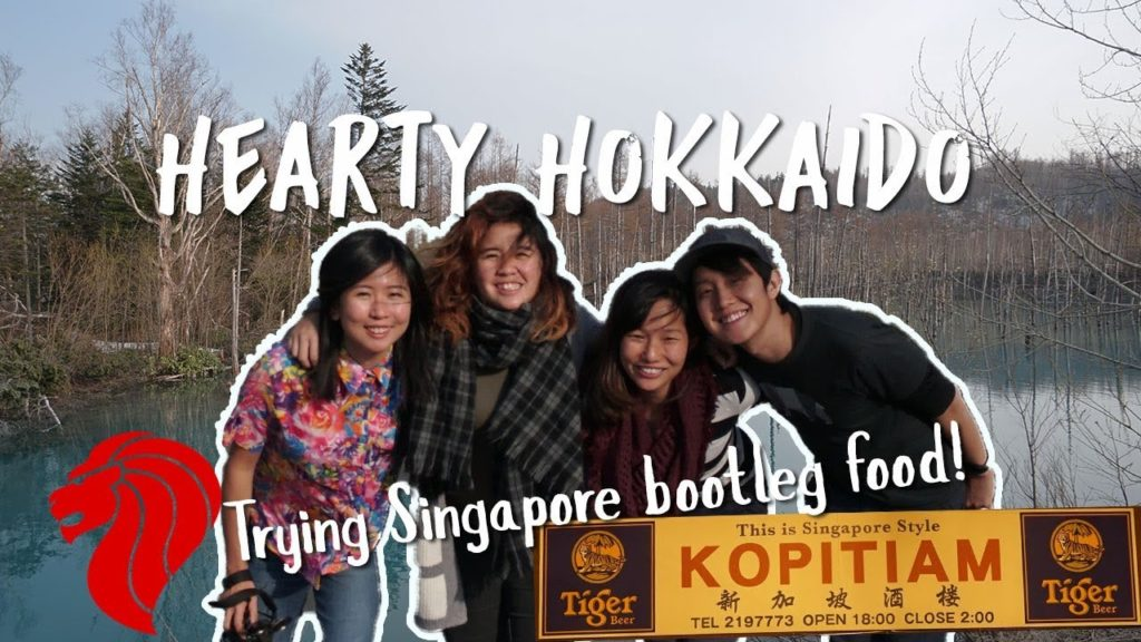 Eating in a Singapore Hawker Centre... In Japan — Hokkaido, Japan   The Travel Intern
