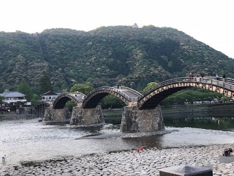 Kintai Bridge and Iwakuni Castle |  Family Trip