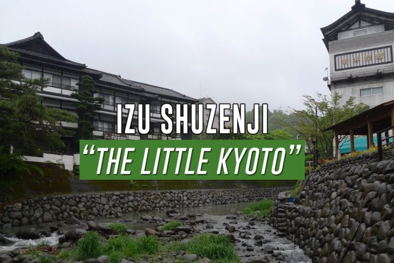 Visit Shuzenji, the hot spring town, on the Izu Peninsula