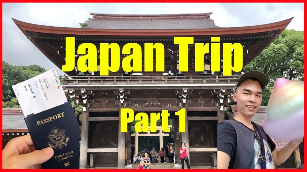 First Time in Tokyo Japan | Part 1